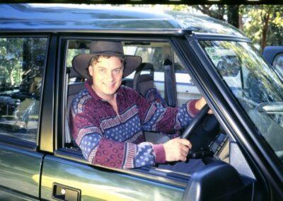 1994 John in Shared New Car - Bluyonda